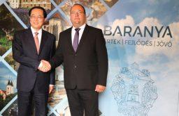 Magyar-kínai üzletember-találkozót tartottak Pécsett