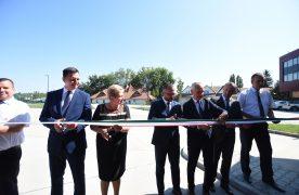Átadták a kaposvári új busztelephelyet